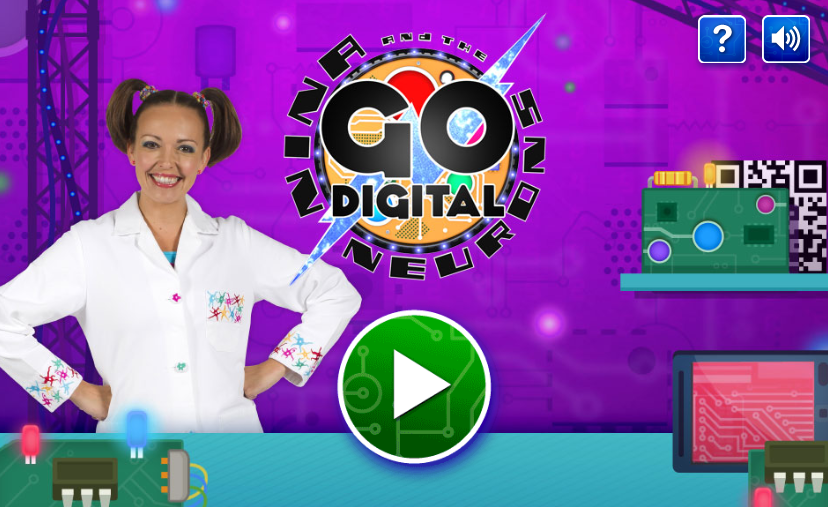 Nina and The Neurons – Go Digital (html5)