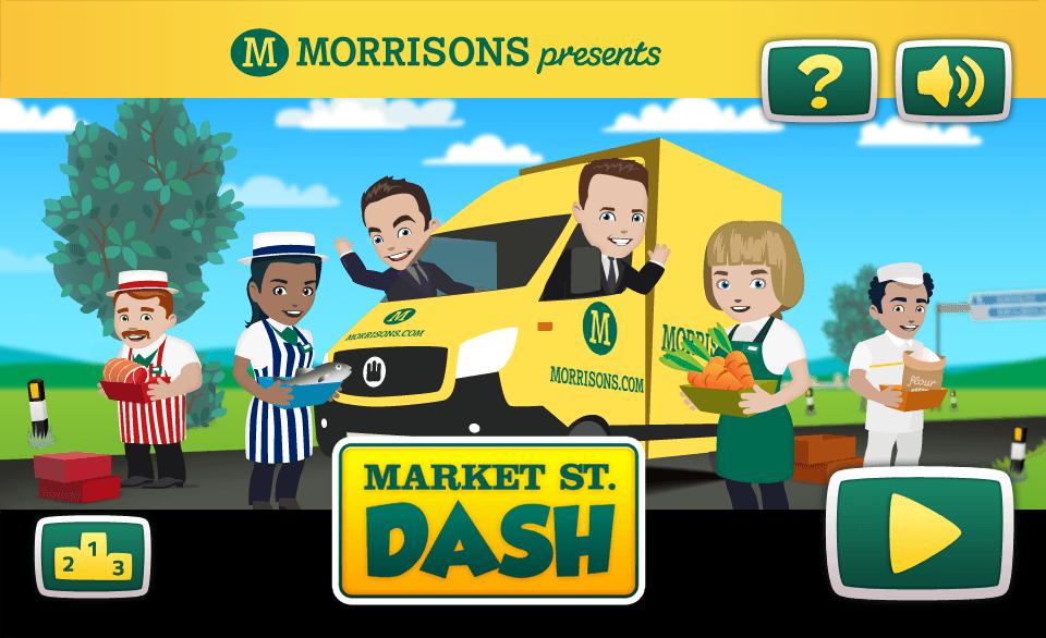 Morrisons Market Street Dash – html5
