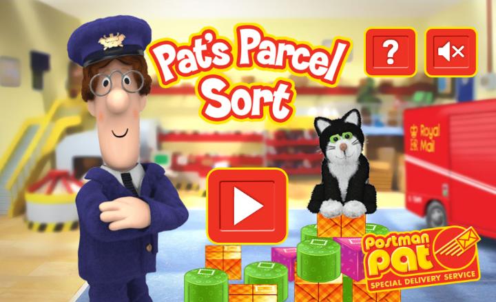 Postman Pat: Pat's Parcel Sort – html5