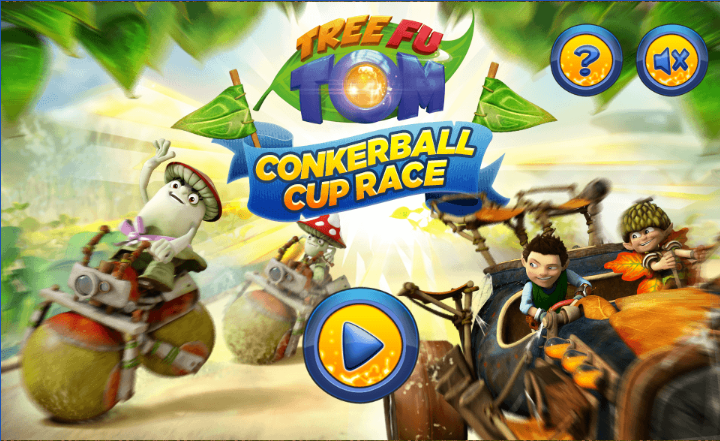 Tree Fu Tom: Conkerball Cup – html5