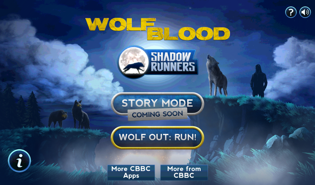 Wolfblood shadow runner – Unity