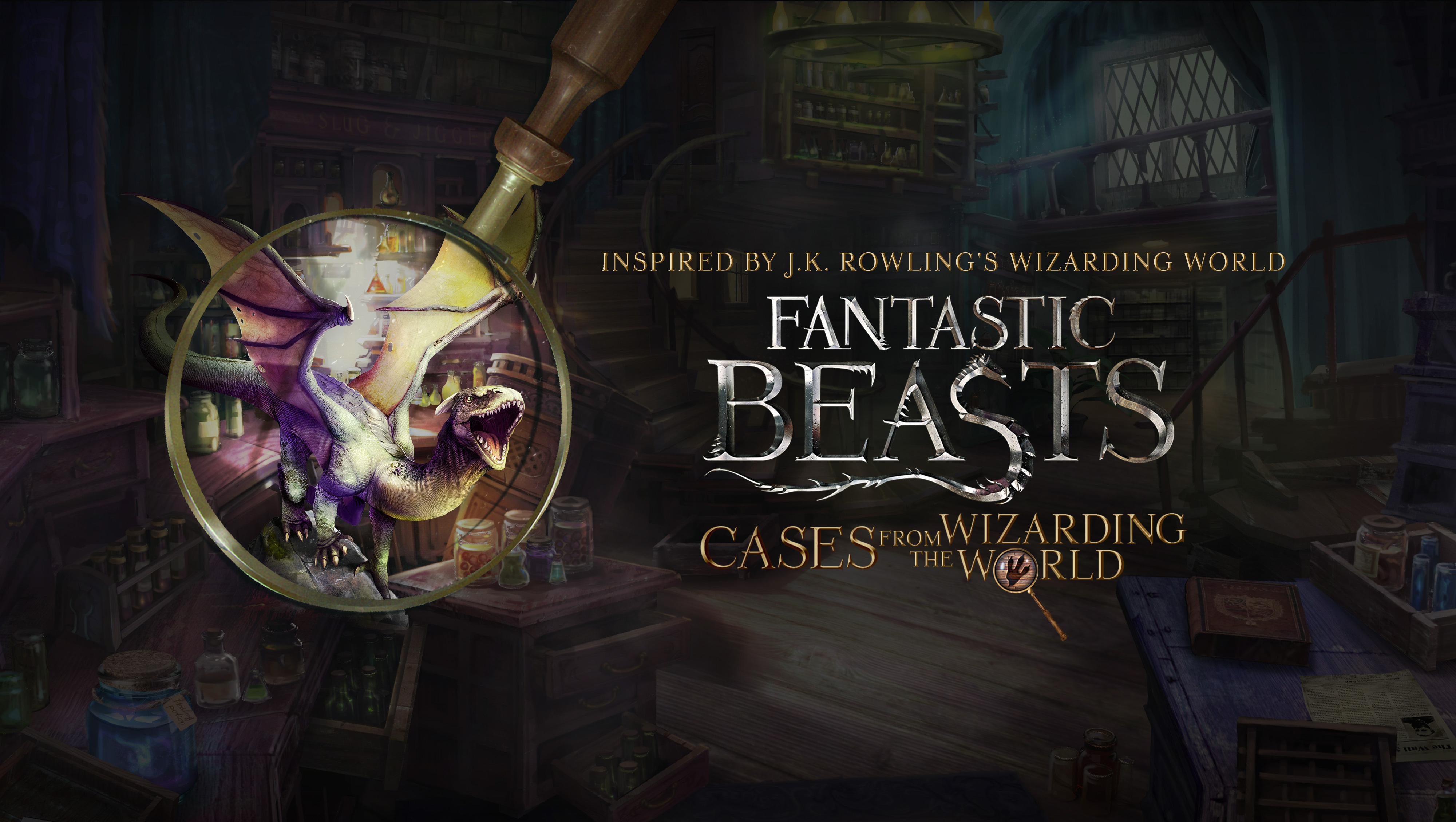 Fantastic Beasts – cases from the wizarding world (Unity)